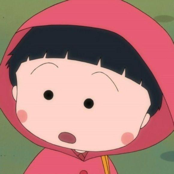樱桃小丸子的qq皮肤:小小眼睛,楚楚可爱