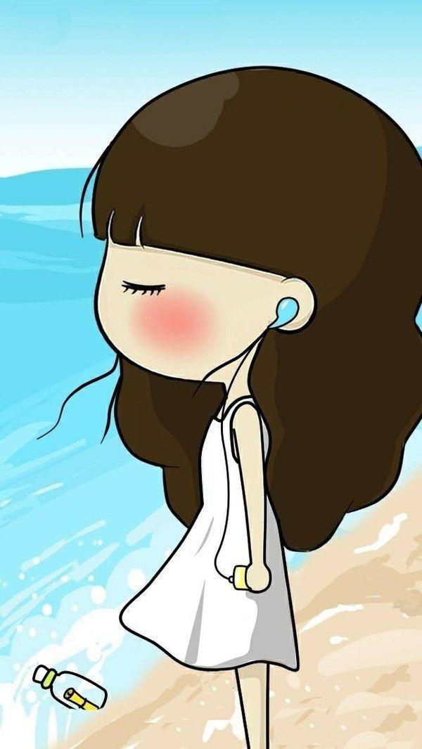 qq超可爱小妹子的皮肤:温柔大过今天