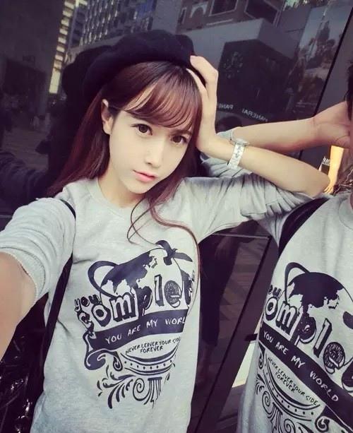 长发女孩qq皮肤:甜美又时尚