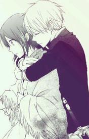 拥抱在一起的qq皮肤情侣:爱温暖了阳光图片