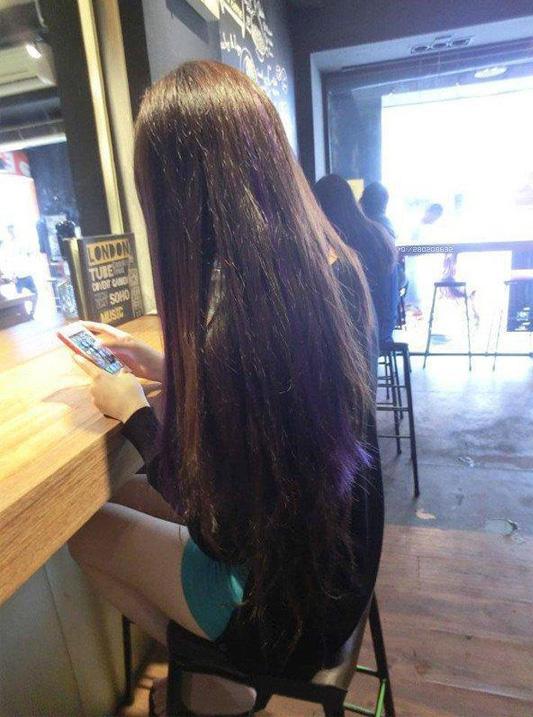 长发美女背影皮肤_QQ皮肤女生长发背影 向往的美丽至上_女生皮肤_剑速网